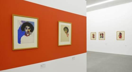 Ausstellungsansicht Emil Nolde - Farbenzauber