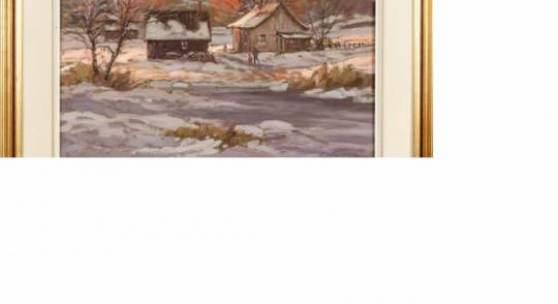 "KatalogNr: 758 - Standort: Lübeck Littorio Del Signore (geb. 1938 in Sulmona/Italien, lebt seit 1978 in Canada), Öl/Lw, signiert unten rechts ""L. Del Signore"", ""Promenade du soir"", 60x76cm, gerahmt (88x103cm) RP: 380,00 €"
