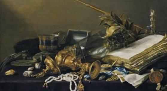 Pieter Claesz. Vanitas-Stillleben, 1630