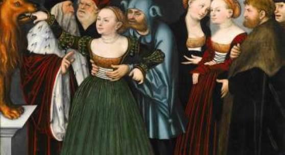 Participants / Sotheby's Lucas Cranach The Elder (1472 – 1553) La Bocca della Verità (The Jaws of Truth)