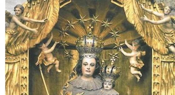 Das Gnadenbild in der Gnadenkapelle - Mittelpunkt zahlreicher Wallfahrten © Pfarre der Bergkirche