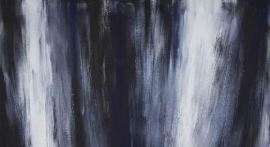 5. Raimund Girke, aufsteigend st�rzend SuiteI, 1997, l auf Leinwand, 200 x 220, Privatsammlung Saarbrücken