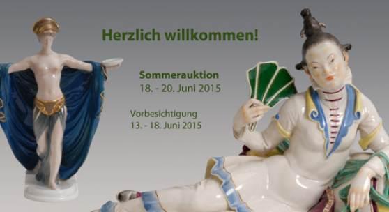 Große Sommer-Auktion  18. bis 20. Juni 2015