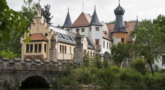 Jagdschloss Fröhliche Wiederkunft in Wolfersdorf-Trockenborn © Marie-Luise Preiss/Deutsche Stiftung Denkmalschutz