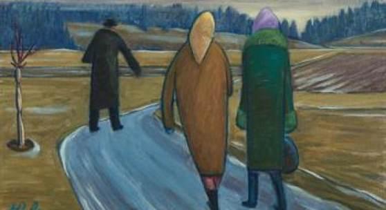 Werner Berg* Bei Frost unterwegs, 1976  Schätzpreis: 100 000 - 200 000 €