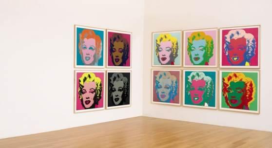 9645 Andy Warhol, Marilyn Monroe