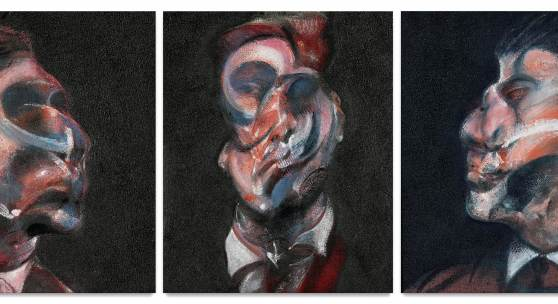 9713 Francis Bacon, Three Studies of George Dyer SMALL