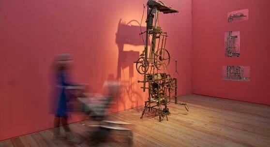 Jean Tinguely, La Tour (Berner Zytglogge), 1960, neu zu sehen im Museum Tinguely, Basel