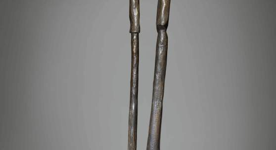 Lot 313 Lines Into Form: The Martin And Diane Trust Collection Max Ernst Les Asperges De La Lune Inscribed max ernst, numbered III/VI and stamped with the foundry mark Susse Fondeur Paris Bronze Height: 64 1/4 in. 162.5 cm Conceived in 1935 and cast between December 1972 and May 1973 in an edition of 8 numbered 0/VI- VI/VI plus 1 artist's proof. Estimate $1.2/1.8 million Sold for $3,135,000