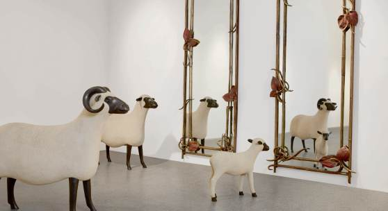 9957 Lalanne Mirrors & Sheep