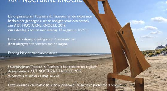 ART NOCTURNE KNOCKE  2017