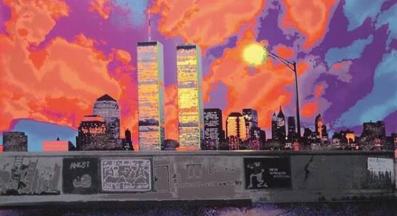 The Wall, Grafik, 1985