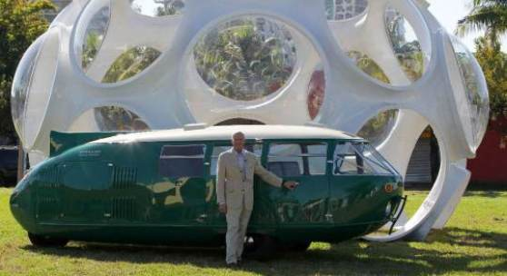 Architecting the Future: Buckminster Fuller & Norman Foster/ Design Miami/ 2010/ Image: Getty