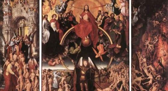 Das Jüngste Gericht, Hans Memling (um 1470). Bildmaterial: de.academic.ru