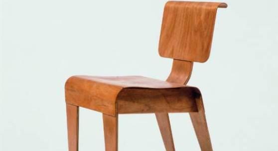 Marcel Breuer / Isokon Furniture Co., London: Stapelstuhl Isokon, 1936, Vorlage Vitra Design Museum, Weil am Rhein Kategorie: Marcel Breuer