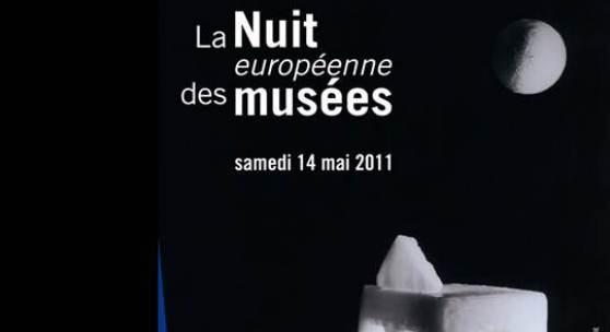 Foto: Die 10. Ellwanger Museumsnacht am 14. Mai wird im Rahmen der 7. europäischen Museumsnacht bereits im Internet beworben - hier das Plakat des französischen Kulturministeriums zu diesem Tag (Foto: Museum).