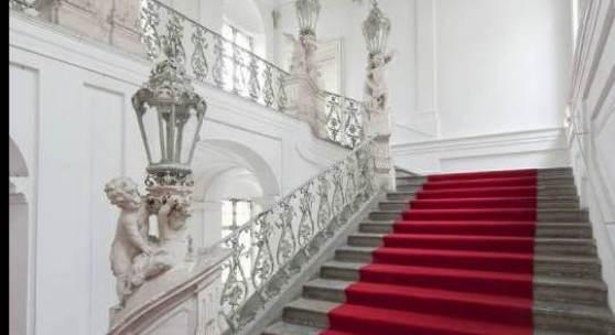 Prunkstiegenhaus Palais Herberstein  von Architekt Joseph Hueber (1754/57), Sackstraße 16 Foto: UMJ / N. Lackner