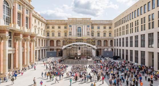 Große Begeisterung für das Humboldt Forum im Berliner Schloss
