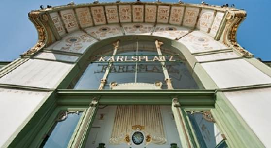 Otto Wagner Pavillon Karlsplatz, Foto: Hertha Hurnaus