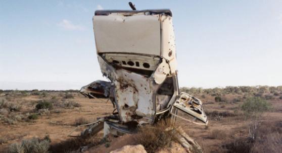 Jack Pam: Desert Car. Australia 2009, Anthony Riding Gallery
