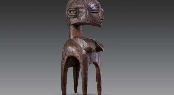 Nr. 388 932 Baga Schulter-Maske Republik Guinea. H 94 cm Ergebnis: € 52.000,-