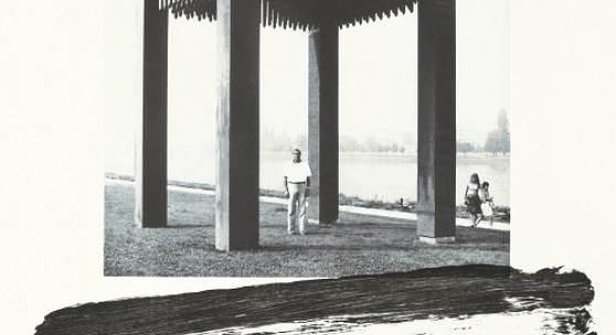 Günther Uecker Tisch der Austreibung, 1977-2019 2 Motive (Pinselspur / Graphitspur) Polymerheliogravüre und Lithografie (Alugrafie) Format: 75 x 55 cm
