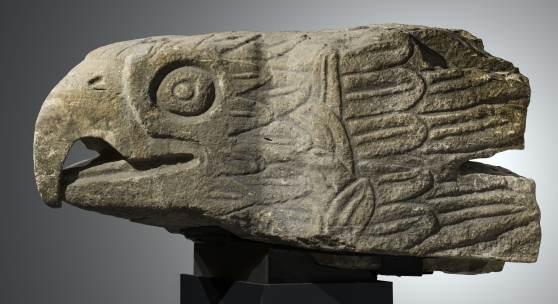 Adlerkopf, Architekturteil Mexiko, Azteken © Royal Museum of Arts and History, Brüssel