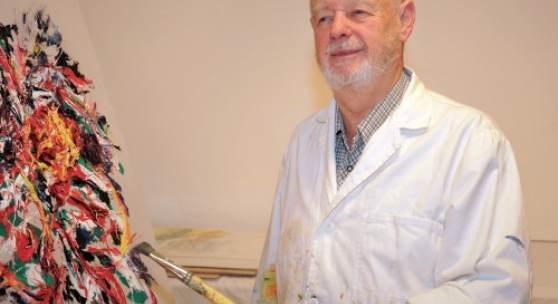Porträt Prof. Albert Hoffmann (c) kunstsammler.at