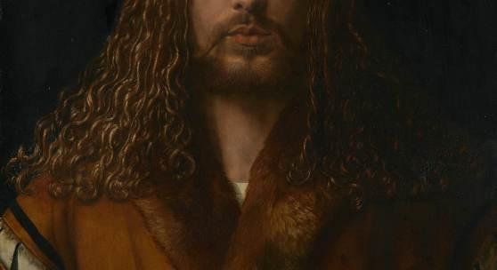 Albrecht Dürer | Selbstbildnis im Pelzrock, 1500 | Bayerische Staatsgemäldesammlungen - Alte Pinakothek München
