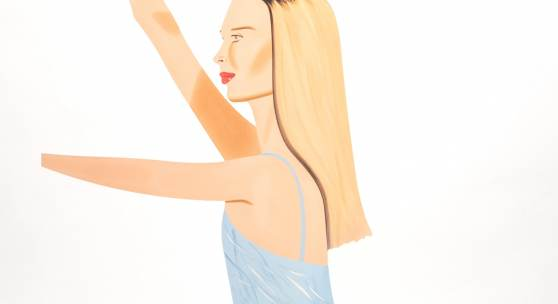 Alex Katz | Dancer 2 Cutout | GALERIE FRANK FLUEGEL