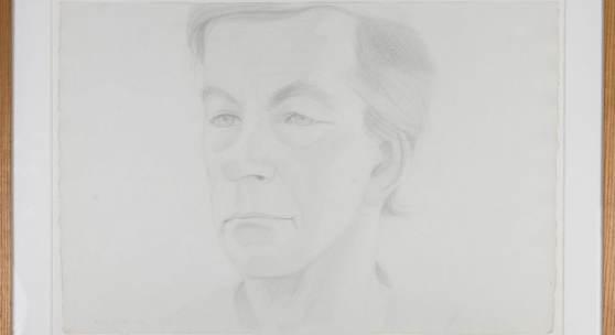 Alex Katz (Brooklyn 1927- lebt in New York City) 'Rudy Burckhardt', 1973 Bleistiftzeichnung auf Bütten. 37,5 x 55,5 cm (Blatt). Aufrufpreis:21.500 EUR Schätzpreis:22.000 - 25.000 EUR