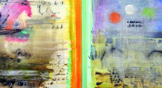 Zwischen den Zeilen. Die Kunst von Alice Teichert im Dialog mit dem Mittelalter.