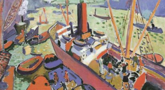 André Derain The Pool of London, 1906/07 Tate: Presented by the Trustees of the Chantrey Bequest 1951
