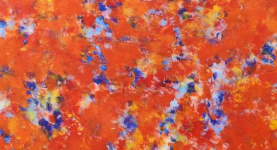 live, 2019 Ölfarbe auf Leinwand, 220 x 180 cm © Andrea Bischof Abdruck honorarfrei bei Namensnennung