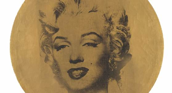 Andy Warhol Runde Marilyn, 1962 Acryl und Siebdruckfarbe auf Leinwand, Durchmesser: 45,2 cm Udo und Anette Brandhorst Sammlung © 2017 The Andy Warhol Foundation for the Visual Arts / ARS, New York