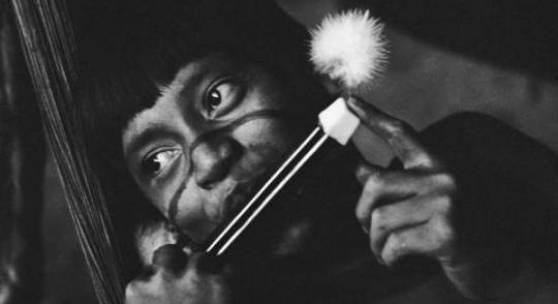 Sammlung Baumgarten/Sugai Yanomami Ethnographica Angehöriger der Yanomami, 1978/1979 © Foto: Lothar Baumgarten