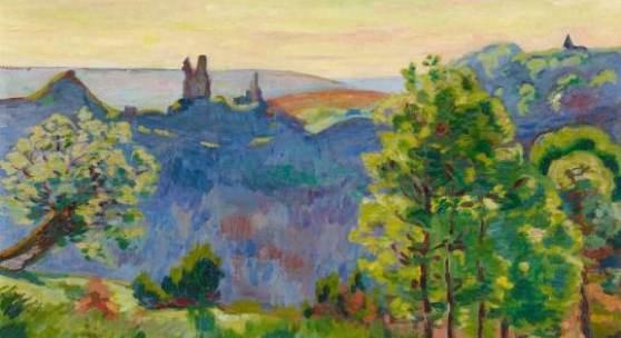 Armand Guillaumin  Les Bréjots, premiers jours de mai, le matin | Öl auf Leinwand | 65 x 81cm  Ergebnis:  75.000 Euro