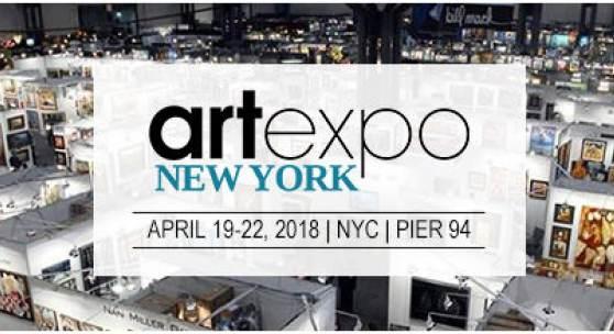 Agora Gallery at artexpo 2018