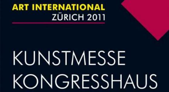 13. ART INTERNATIONAL ZURICH Plakat