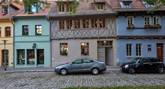 Wohnhaus Stephanikirchhof 12 in 06449 Aschersleben © Roland Rossner/Deutsche Stiftung Denkmalschutz