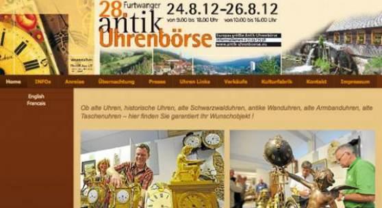 29. Internationale Furtwanger Antik-Uhrenbörse