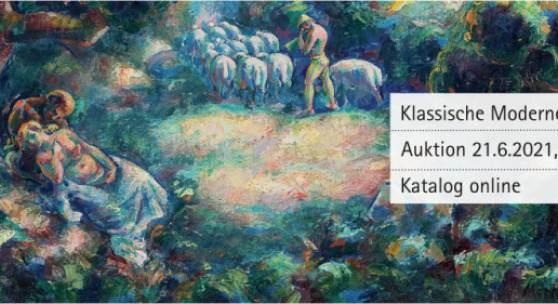 Auktion Klassische Moderne, 21.6.2021, 17.00 Uhr