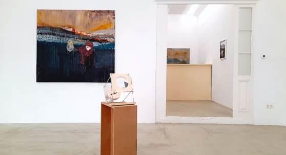 "Ausstellungsansicht ""Great Acceleration"", Galerie Reinthaler, 2021"