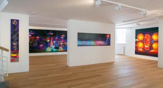 Ausstellungsansicht Römer + Römer. House of Enlightenment, Galerie HAAS & GSCHWANDTNER, Foto: wildbild