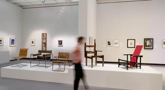 Ausstellungsansicht «Schall und Rauch. Die wilden Zwanziger» Kunsthaus Zürich, Juli 2020 Foto © Franca Candrian, Kunsthaus Zürich