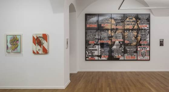 Andy Warhol, Tom Sachs, Werner Reiterer, Gilbert & George, Hans-Peter Feldmann (c) Andrew Phelps
