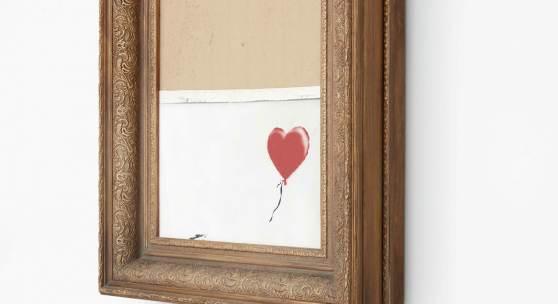 Banksy: »Love is in the Bin« - Jetzt in neuem Kontext in unserer Sammlung!
