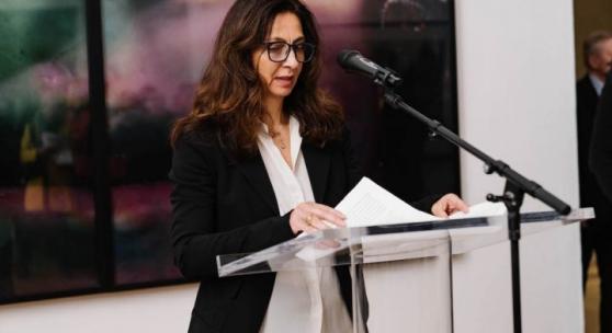 """Bettina M. Busse, Kuratorin der Ausstellung """"The Cindy Sherman Effect"""", im Video-Talk"""