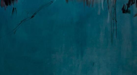 Frauke Boggasch, o.T. (aus: Boris Poplawskij), 2014, Öl, Graphit auf Leinwand, 190 x 160 cm