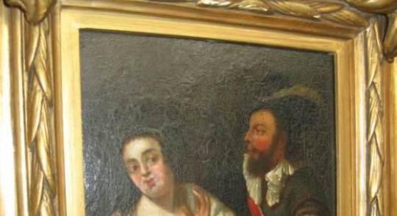 Gemälde des Rembrandtschüler Samuel van Hoogstraeten 1627- 1678